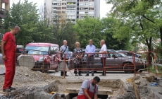 Gradonačelnik Tuzle obišao radove na rekonstrukciji i revitalizaciji toplovodne i vrelovodne mreže na sistemu daljinskog grijanja grada Tuzle