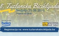 8. Tuzlanska biciklijada u nedjelju 25. augusta