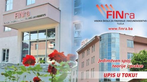 Upis u toku na FINra za akademsku 2019/20. godinu