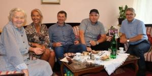 Ministar Bukvarević posjetio porodicu generala Mustafe Hajrulahovića Talijana
