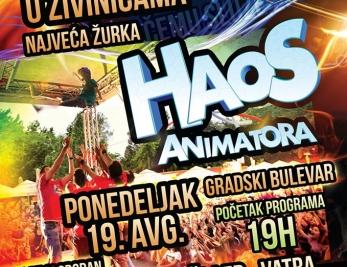 Spektakl za djecu i odrasle večeras na Gradskom bulevaru u Živinicama