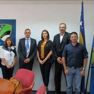 Sastanak rukovodstva Skupštine TK i delegacije Misije OSCE-a u BiH