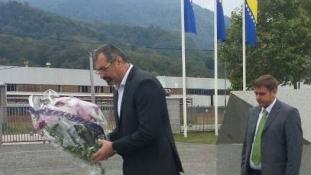 Predsjednik Skupštine TK posjetio Memorijalni centar Potočari