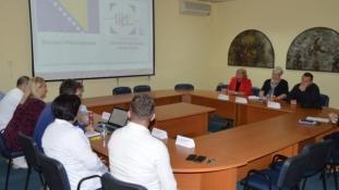 Ministrica Čolić posjetila UKC Tuzla