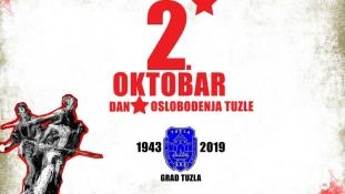 Obilježavanje 76. godišnjice oslobođenja grada Tuzle, 2.10.1943. godine
