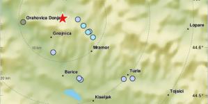EMSC: Novi zemljotres pogodio područje Tuzle!