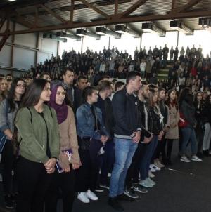 Svečana ceremonija prijema brucoša u akademsku zajednicu