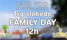 Family Day:Događaj za cijelu porodicu u subotu na Trgu Slobode