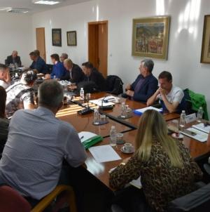 Radni sastanak u vezi sa implementacijom federalnog Zakona o pravima boraca