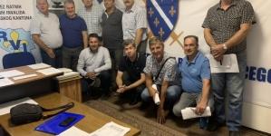 Zasjedala Komisija Saveza RVI TK za izradu Zakona o osnovnim pravima boraca Tuzlanskog kantona