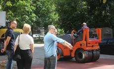 Gradonačelnik Tuzle obišao završne radove na izgradnji usporivača brzine u naselju Stupine