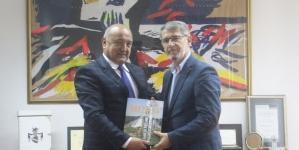 Gradonačelnik Tuzle se susreo sa Zamjenikom ministra odbrane BiH, Seadom Jusićem