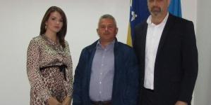 Održan sastank rukovodstva Skupštine TK sa predsjednikom Obrtničke komore F BiH