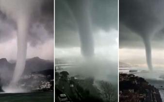 Snijeg i olujno nevrijeme pogodilo Italiju