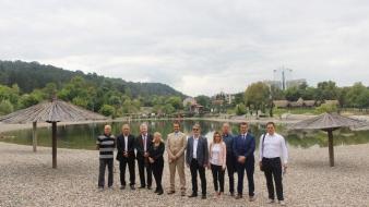 Gradonačelnik Tuzle upriličio prijem za delegaciju Opštine Pljevlja