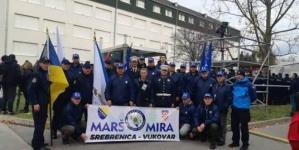 """Članovi """"Manevaraca"""" iz Tuzle učestvovali u """"Koloni sjećanja – Vukovar 2019"""""""