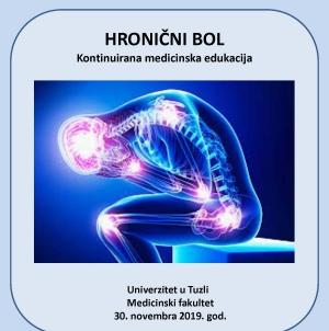 """Najava Seminara """"Hronični bol"""""""