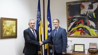 Gradonačelnik Tuzle upriličio prijem za ambasadora Crne Gore u BiH