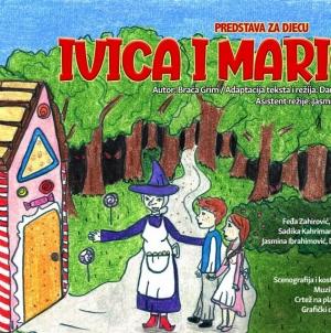 Književno veče posvećeno bajkama i predstava za djecu ''Ivica i Marica'' na sceni Teatra kabare Tuzla