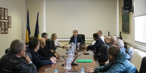 Predstavnici nogometnih klubova u posjeti gradonačelniku Tuzle