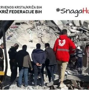 Apel Crvenog križa Federacije BiH: Pomozimo Albaniji