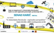 """""""4. industrijska revolucija – regionalne perspektive"""" – predavanje drži Senad Karić"""