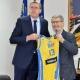 Gradonačelnik Tuzle Jasmin Imamović susreo se sa Samirom Avdićem, direktorom košarkaške reprezentacije BiH