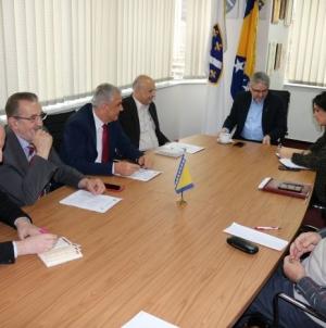 Ministar Bukvarević sa delegacijom SABNOR-a BiH: Zajedno obilježiti Dan državnosti u Mrkonjić Gradu
