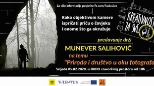 """""""Priroda i društvo u oku fotografa"""" – predavanje drži Munever Salihović"""
