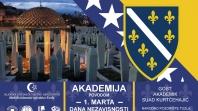 MIZ Tuzla: Akademija povodom 01. marta – Dana nezavisnosti Bosne i Hercegovine
