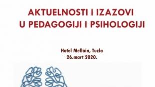 Najava konferencije ''Aktuelnosti i izazovi u pedagogiji i psihologiji''