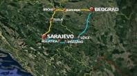 Utvrđen sporazum o cesti Sarajevo – Beograd