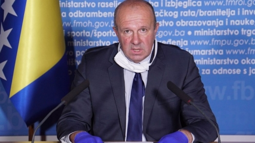 Pehar: Za 24 sata u Federaciji BiH 29 novozaraženih koronavirusom