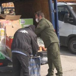 Organizacija demobilisanih boraca grada Tuzla podijelila pakete za 100 svojih članova
