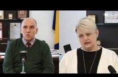 Premijer Tuzlanskog kantona i ministrica zdravstva pozvali građane Tuzlanskog kantona da zadrže mir i ne šire paniku
