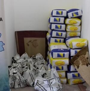 Savez RVI TK podijelio prehrambene pakete za 19 općina i gradova Tuzlasnkog kantona, Brčko distrikta i Podrinja