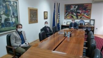 Firma Europa Trading Matteo d.o.o. Tuzla donirala Gradu Tuzli sredstva za dezinfekciju