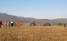 Povratnici iz Austrije u karantenskom prostoru Graničnog prijelaza Izačić