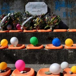 74 balona za 74 ubijenih u masakru 12.04.1993. u Srebrenici