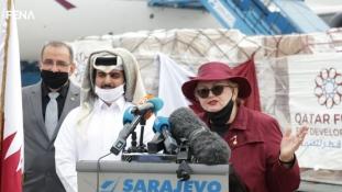 Humanitarna medicinska pomoć Države Katar dopremljena u Sarajevo