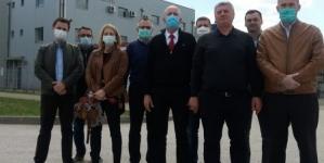 Delegaciji UKC Tuzla kompanija TMD Group prezentovala prvi BH prototip respiratora