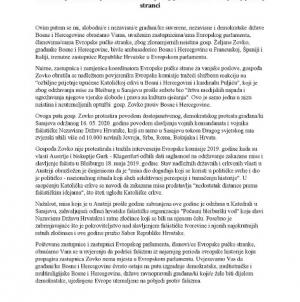 Antifašisti uputili otvoreno pismo zastupnicima/ama Evropskog parlamenta i Evropskoj pučkoj stranci
