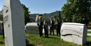 Vlada TK: Povodom 9. maja položeno cvijeće i odata počast