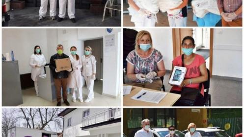 """Akcije podrške zajednici u okviru kampanje """"Solidarnošću protiv korona virusa"""""""