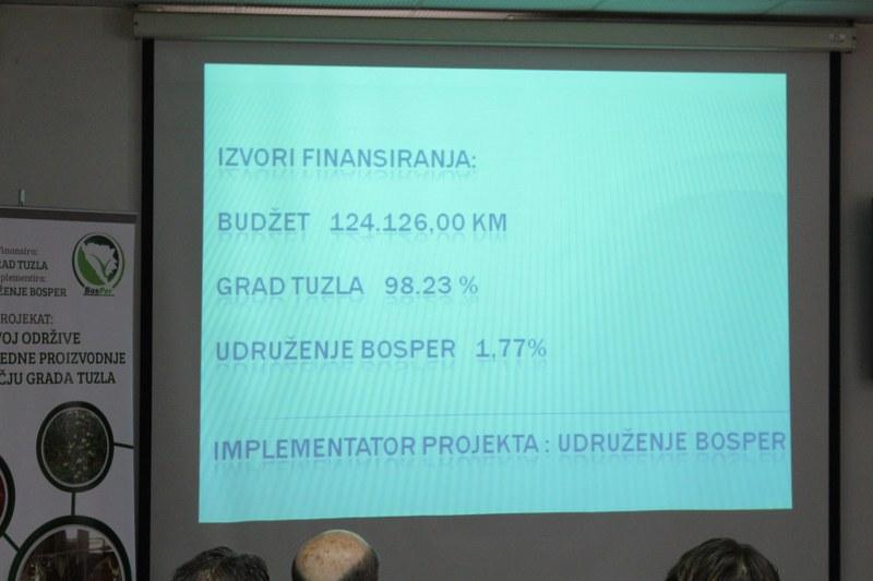 Predstavljeni rezultati projekata razvoja poljoprivrede koje je finansirao Grad Tuzla