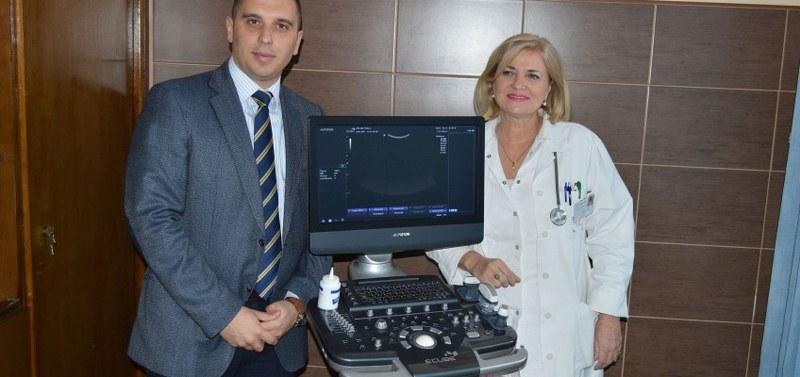 Donacija UZ aparata za dijagnostiku hematoloških pacijenata