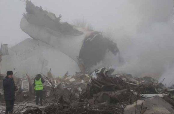 Kirgistan: U padu transportnog aviona 32 mrtvih!