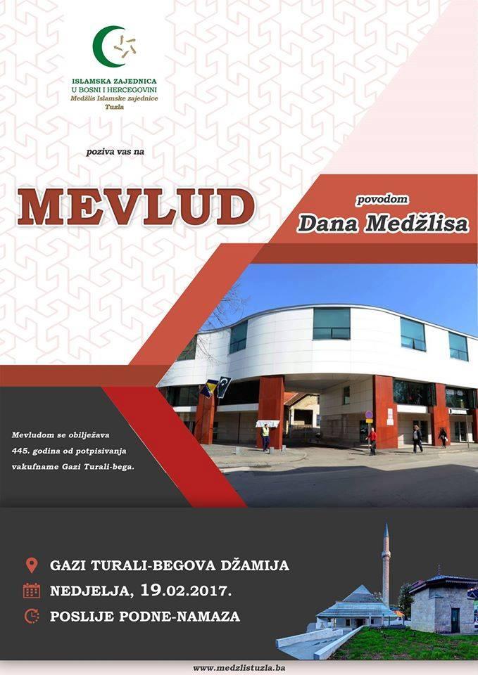 Mevludska svečanost u povodu obilježavanja 445. godina od potpisivanja vakufname Gazi Turali-bega