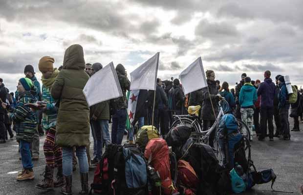 Građanski marš za Halep stigao u BiH