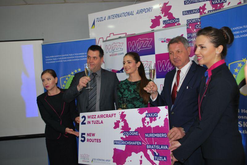 Novi avion i nove destinacije sa tuzlanskog aerodroma